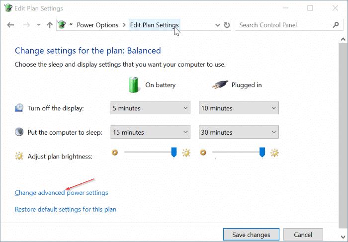 el brillo de la pantalla no aumenta en Windows 10 pic3