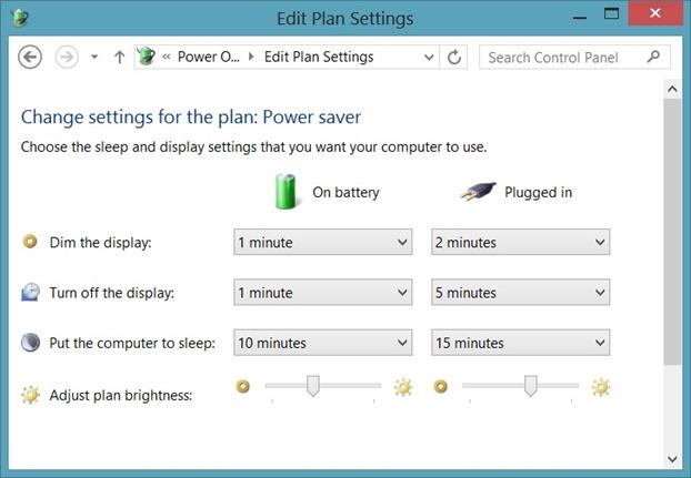 Mejorar la duración de la batería de Microsoft Surface Tip2