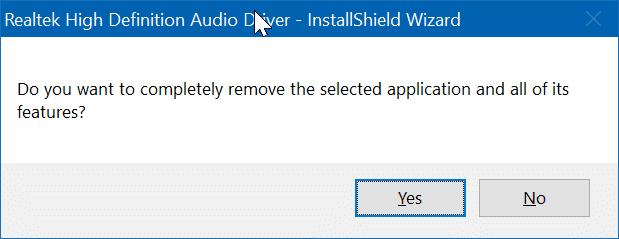 reinstale el controlador de audio en Windows 10 pic8