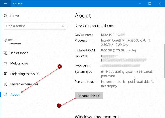 cambiar el nombre de bluetooth en Windows 10 pic5