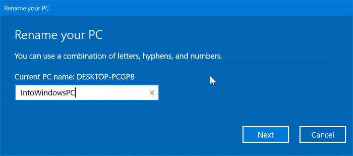 cambiar el nombre de bluetooth en Windows 10 pic6