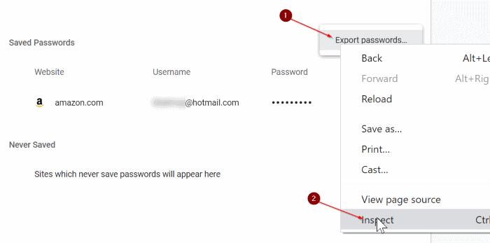 importar contraseñas en Chrome desde el archivo CSV pic3