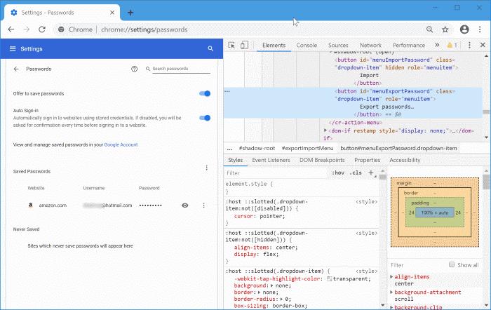 importar contraseñas en Chrome desde el archivo CSV pic4