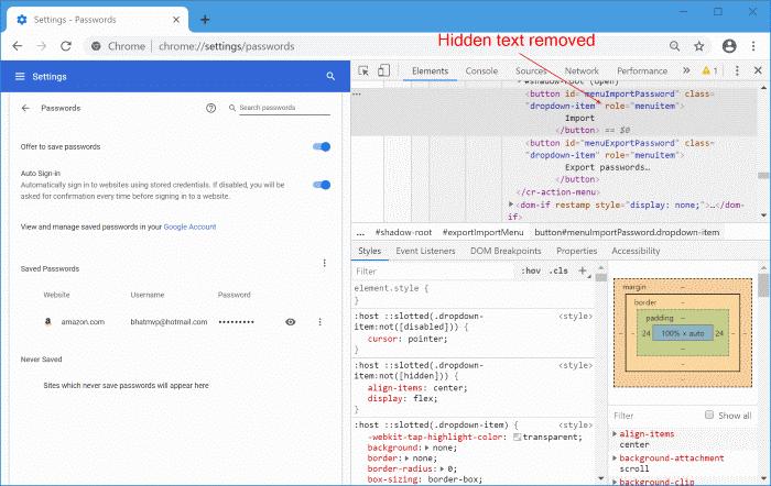 importar contraseñas en Chrome desde el archivo CSV pic6