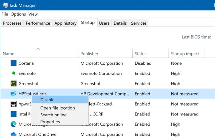 ver todos los programas de inicio en Windows 10 pic4