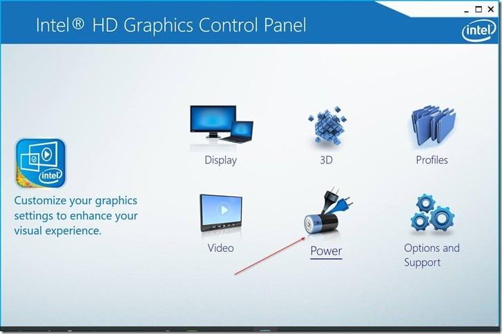 Deshabilitar el brillo automático de la pantalla en Windows 10 pic6