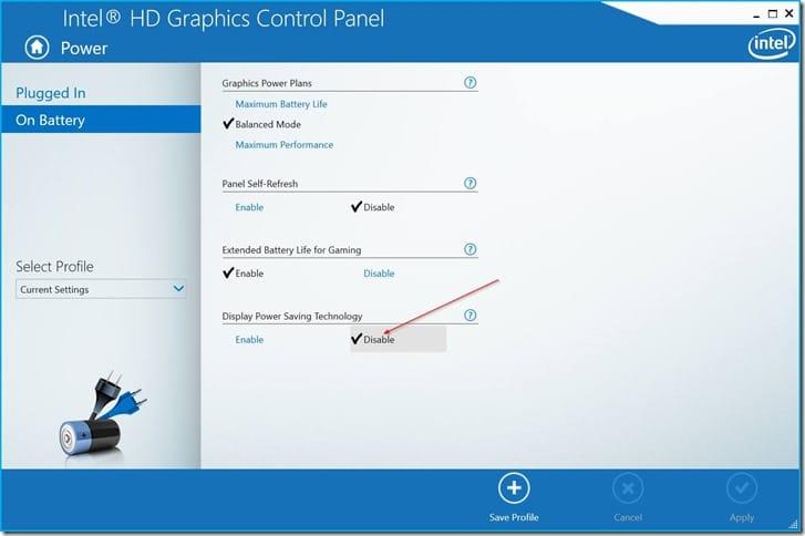 Deshabilitar el brillo automático de la pantalla en Windows 10 pic7.PNG
