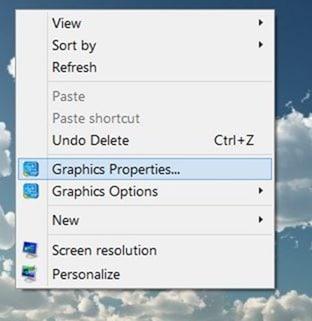 Cambiar la resolución de pantalla Imagen de Windows 10