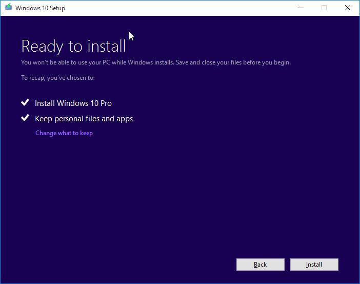 cuál es la última versión de Windows 10 pic7