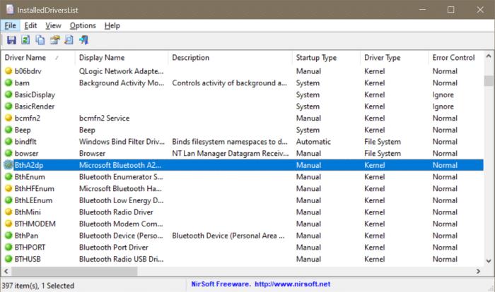 ver todos los controladores instalados en Windows 10 pic3