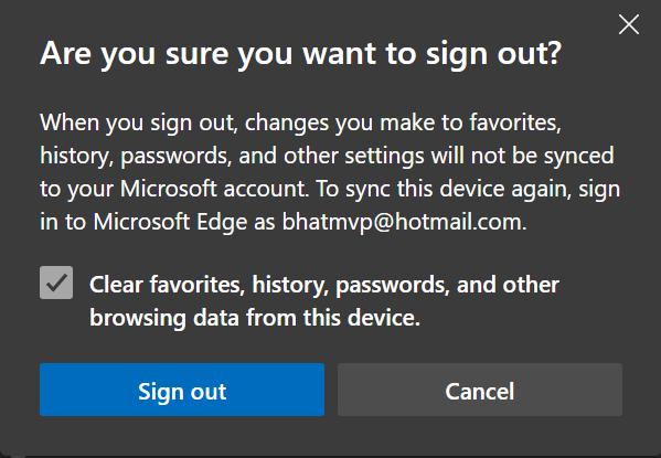 cerrar sesión en la cuenta de Microsoft en el navegador Edge pic6
