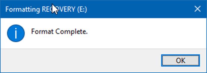 formatear una unidad o partición en Windows 10 pic01