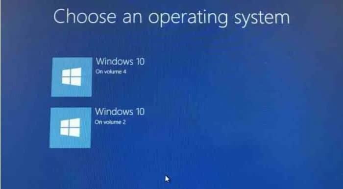 restaurar el menú de arranque dual que falta en Windows 10 pic01