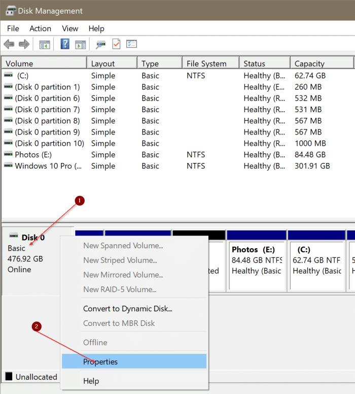 compruebe si su PC tiene SSD NVMe o SSD SATA en Windows 10 pic2