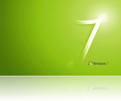 Widnows 7 verde