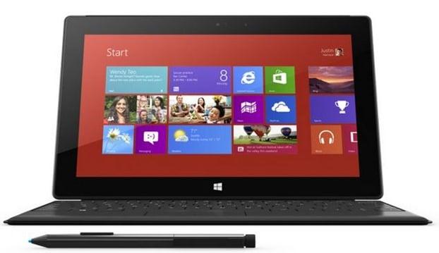 Duración de la batería de Microsoft Surface