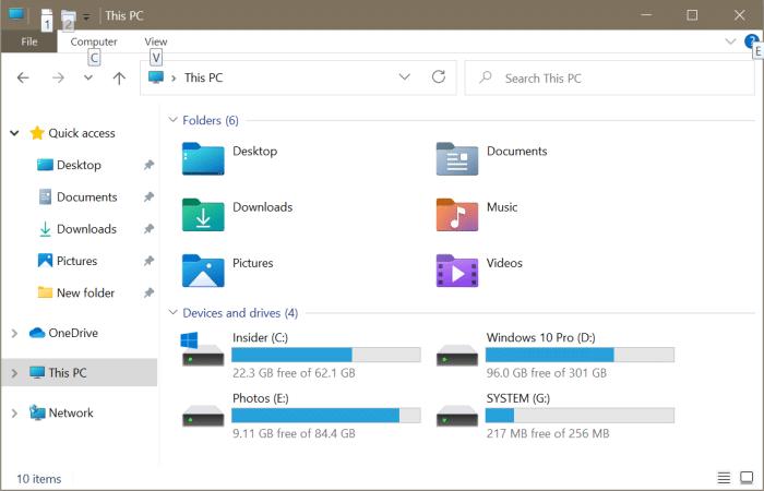 Abra el explorador de archivos en esta PC en lugar de acceso rápido en Windows 10 pic3