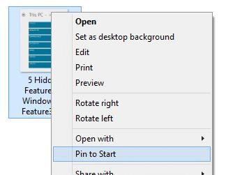 Agregar pin para iniciar a todos los tipos de archivos Windows 8.1