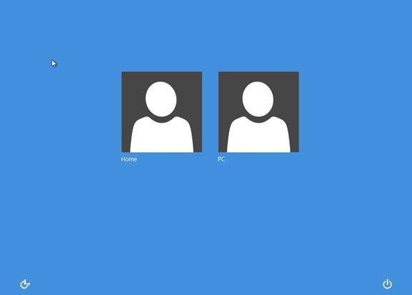 Cambiar el color de fondo de inicio de sesión de Windows 8