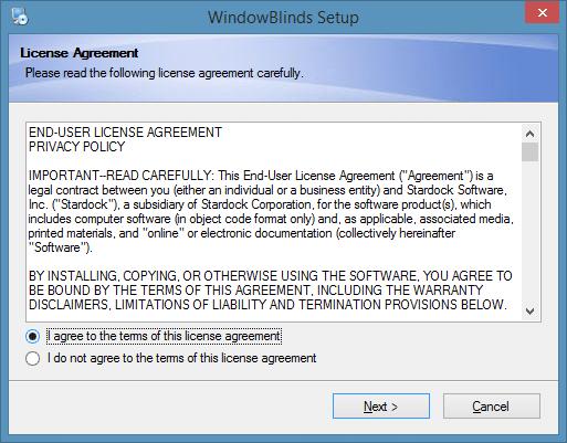 Cambiar el fondo de la carpeta en Windows 8.1 usando WindowBlinds Step1