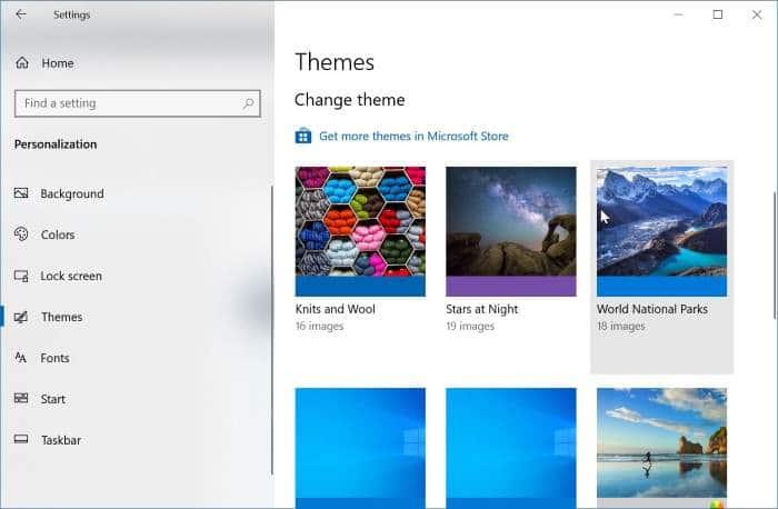 cambiar el tema de Windows 10 pic5
