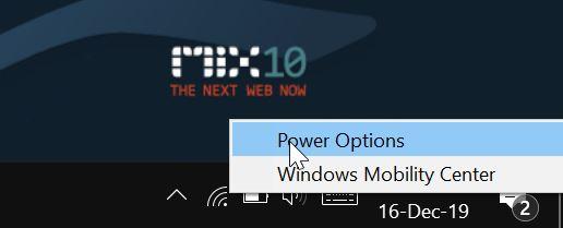 deshabilitar el brillo automático o adaptativo en Windows 10 pic1