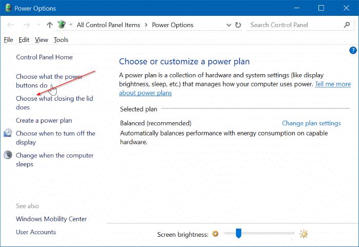 ejecutar la computadora portátil con la tapa cerrada pic2