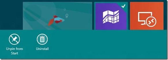Impedir que los usuarios desinstalen aplicaciones en Windows 8