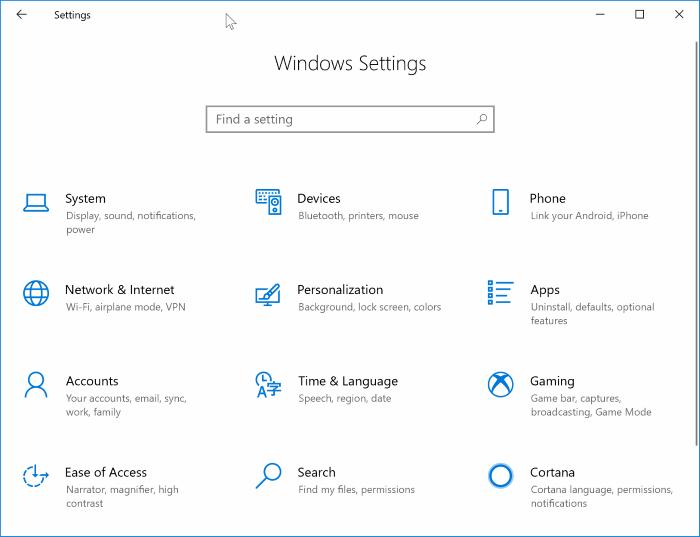 habilitar o deshabilitar el modo de suspensión en Windows 10 pic1