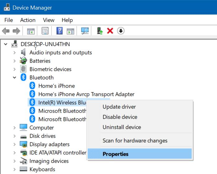comprobar la versión de bluetooth en Windows 10 pic2