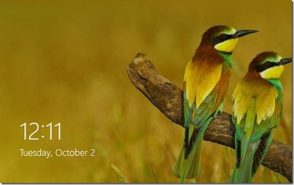 Establecer imagen de Bing como imagen de fondo de la pantalla de bloqueo 2