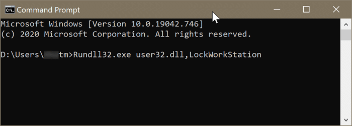bloquear Windows 10 pc2