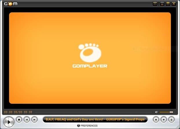 Reproductor multimedia GOM
