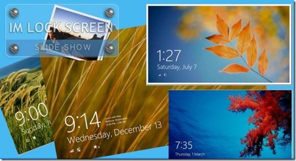 Girar las imágenes de la pantalla de bloqueo de Windows 8