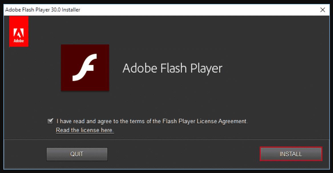 Instalar Adobe