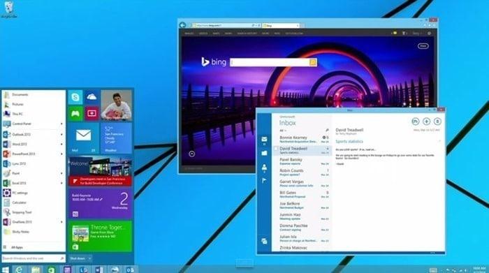 Puede deshabilitar el menú Inicio en Windows 9