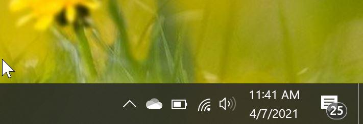 el icono de wifi no se muestra en Windows 10