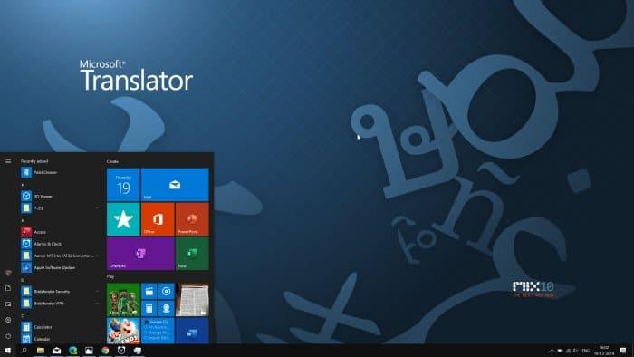 el menú de inicio no funciona en Windows 10 pic1