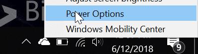 el brillo de la pantalla no aumenta en Windows 10 pic1