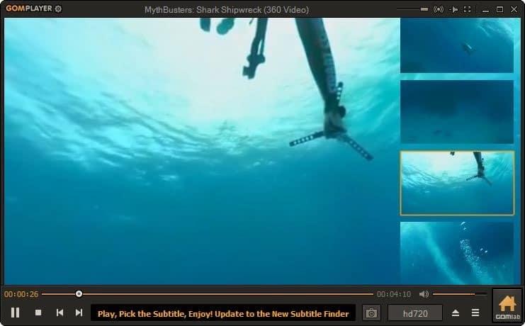 ver video de 360 grados en Windows 10 pic4
