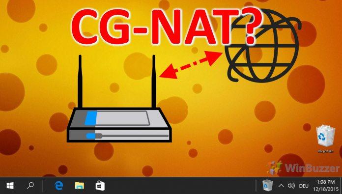 Windows 10: Cómo comprobar si su ISP utiliza NAT de grado de operador (CG-NAT)
