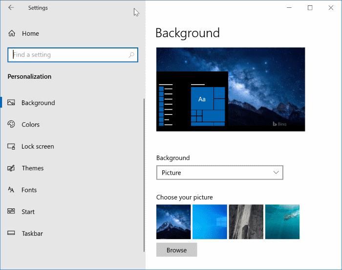 abrir settinsg en Windows 10 pic7